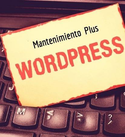 Mantenimiento WordPress Plus